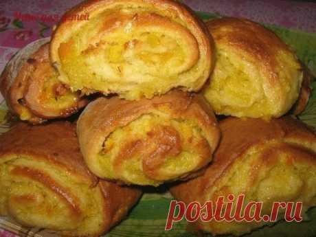 Мягкие апельсиновые печенья / Райская пища