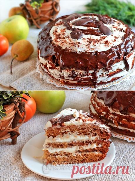 Торт «Трухлявый пень» с вареньем — рецепт с фото пошагово
