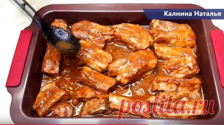 Такое мясо готовлю вместо шашлыка на Новогодний стол   Готовим с Калниной Натальей   Яндекс Дзен