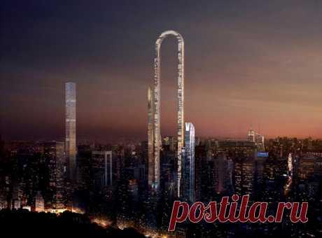 Чего только эти архитекторы не придумают, чтобы выжать из каждого квадратного метра на Манхэттене побольше профита. Сейчас вот решили соорудить «камертон» длиной с Центральный парк
