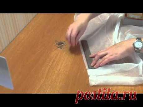 Пошив тюля на ручную складку, подробный мастер-класс