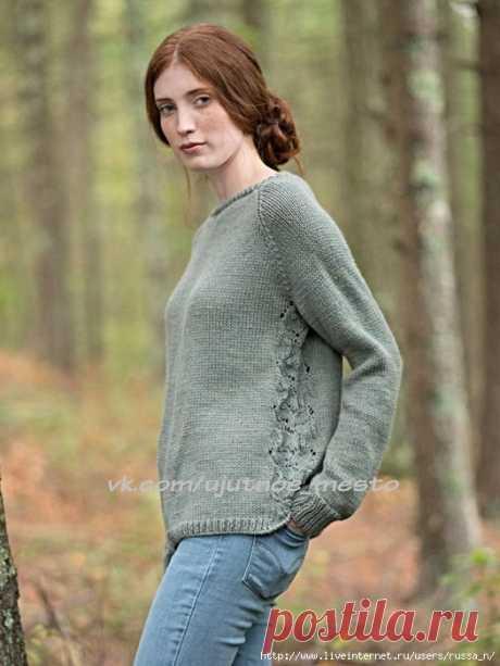 "Пуловер ""Fountain"" от berroco"