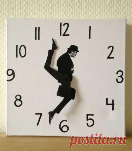 15идей для фантастических настенных часов, которые можно сделать своими руками