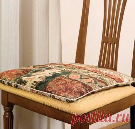 Как сшить подушку на стул :: модный стул :: Fashion Stylist