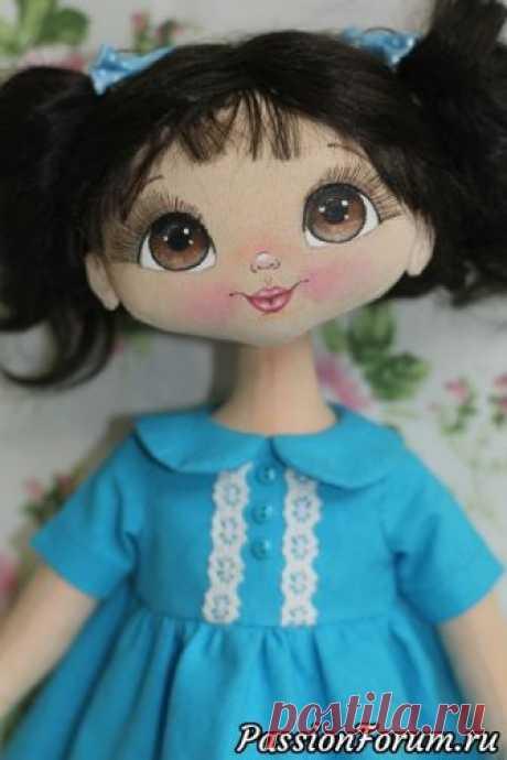 Куколка Констанс. - запись пользователя Светлана (Svetlana) в сообществе Мир игрушки в категории Разнообразные игрушки ручной работы