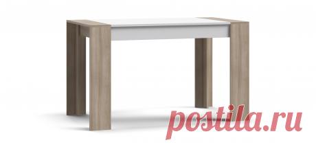 Обеденный стол LUX 120: цены, фото, отзывы, описание, характеристики - купить в Много Мебели 3.999 руб.