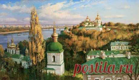Царство красоты, художник Олег Турчин
