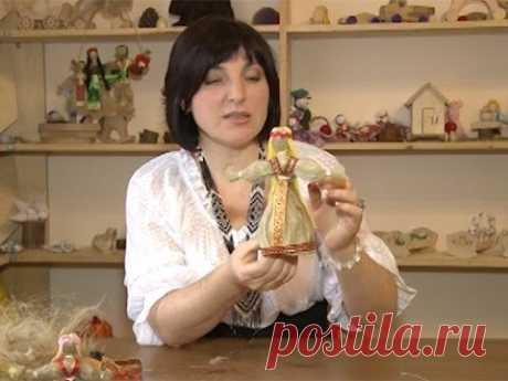 Hacer la muñeca rusa de lino — es fácil