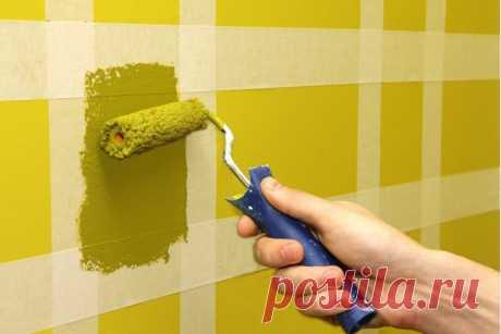 Как рассчитать количество краски, необходимое для окрашивания стен помещения
