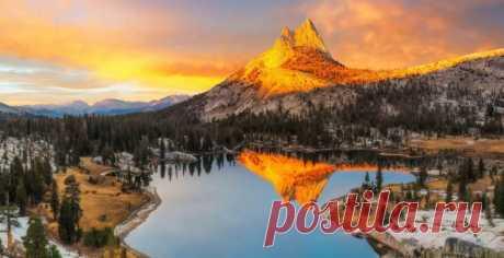 Национальный парк Йосемити, штат Калифорния, США - Самые живописные парки мира - образ жизни | msn