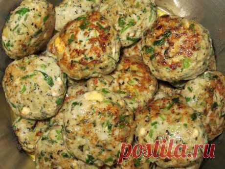 Рыбные котлеты по - фински с грибами и сыром