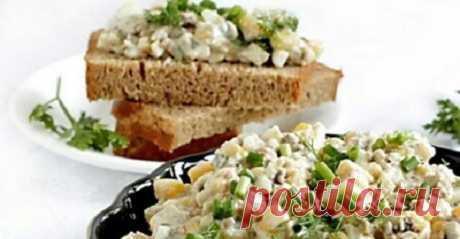 Рецепт из Одессы: шпротный салат-намазка. Она исчезает со стола первой! Можно подать и как закуску, и как салат