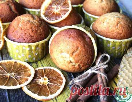 Кексы-Магдалены с медом и корицей – кулинарный рецепт