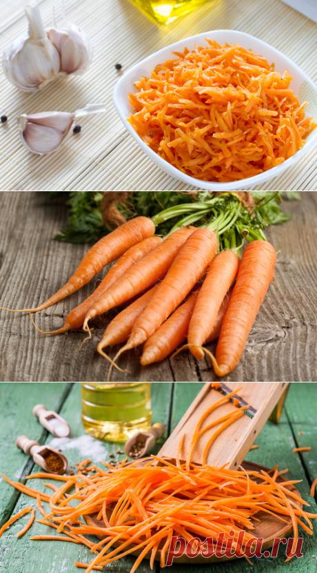 Морковь по–корейски на зиму – Рецепты моркови по–корейски. Всё про заготовки
