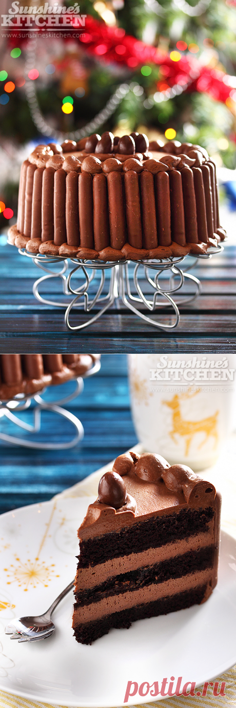 Най-вкусната шоколадова торта – Sunshine's kitchen
