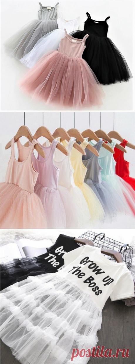 Майка превращается... в модное платье для девочки | Поделки, рукоделки, рецепты | Яндекс Дзен