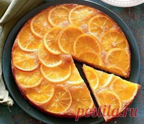 Рецепты апельсиновых пирогов