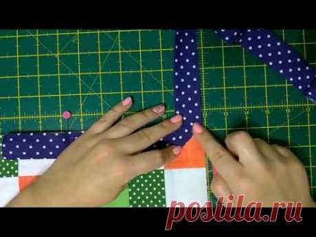 Окантовка одеяла /как рассчитать бейку/лоскутное одеяло
