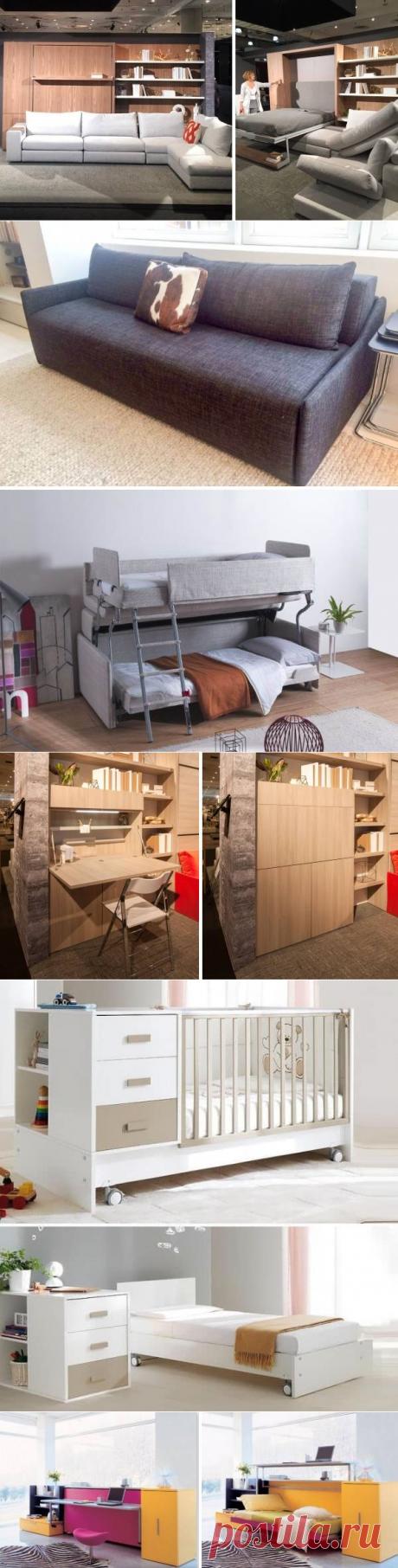Мебель-трансформер для малогабаритной квартиры — 32 фото
