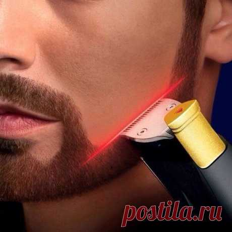 The razor with a laser sight from Philipps. The man will be delighted!