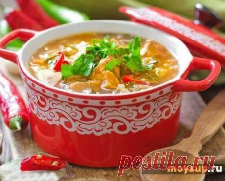Суп харчо из курицы — готовим как в Грузии