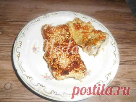 Как приготовить хек в кунжуте - Горячие блюда от 1001 ЕДА вкусные рецепты с фото!