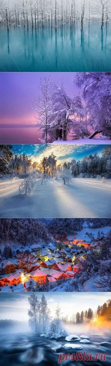 » Волшебные снежные пейзажи Это интересно!