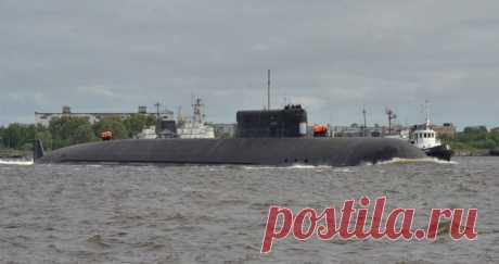 """2021 июнь. Первый носитель """"Посейдонов"""" - самая большая в мире атомная подводная лодка (АПЛ) К-329 """"Белгород"""" проекта 09852 вышла на ходовые испытания"""