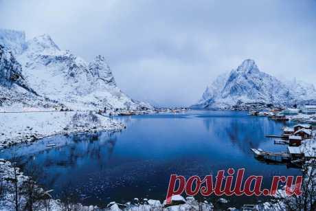 Рейне - самая красивая деревня Скандинавии   ПИЛИГРИМ   Яндекс Дзен