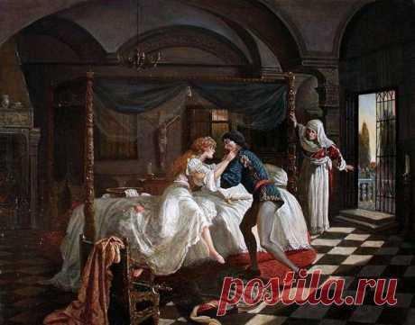 Ромео и Джульетта в живописи