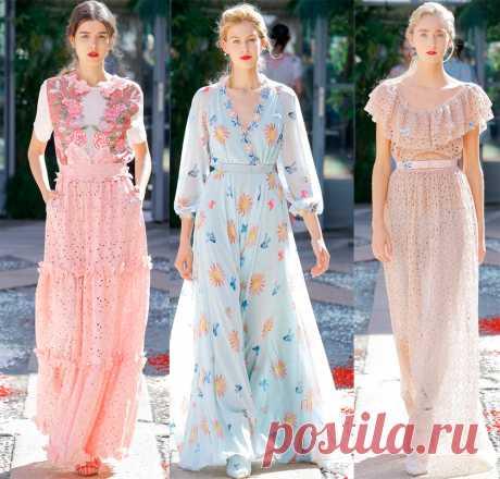 Платья и другая модная одежда 2018 от Luisa Beccaria Когда приближается новый сезон, мы всегда стараемся быстрее ознакомиться с новыми модными тенденциями, и замечаем, что большинство из них находятся в стадии продолжения прошлого сезона, некоторые начи…