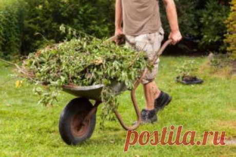 Заготовка компоста и компостной ямы - быстро и удобно