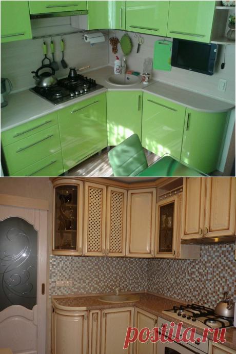 Идеи дизайна кухни в хрущевке: 160+ реальных фото примеров