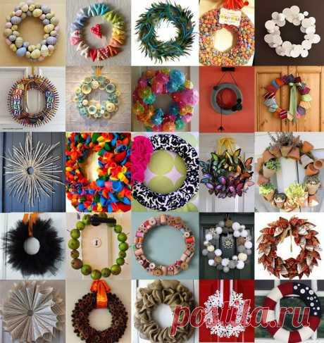 Подборка идей красивого новогоднего декора