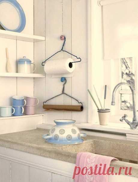 10 блестящих идей хранения на кухне