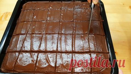Большой шоколадный пирог. | Анна Ерофеева | Яндекс Дзен