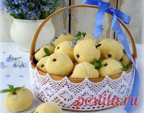 Печенье «Маисовые яблочки» по старинному рецепту: Очень вкусное песочное печенье, которое пекли еще наши мамы и бабушки: