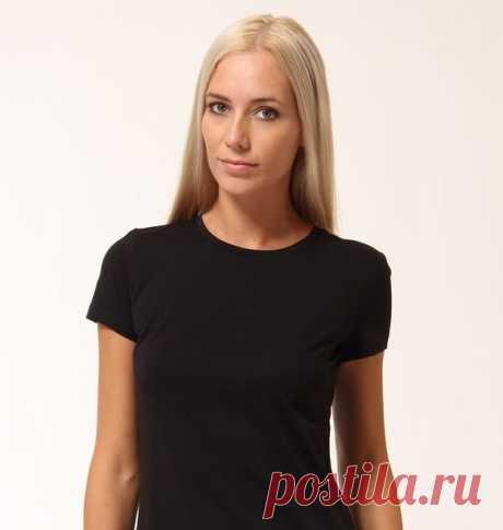 Женская футболка. Выкройка