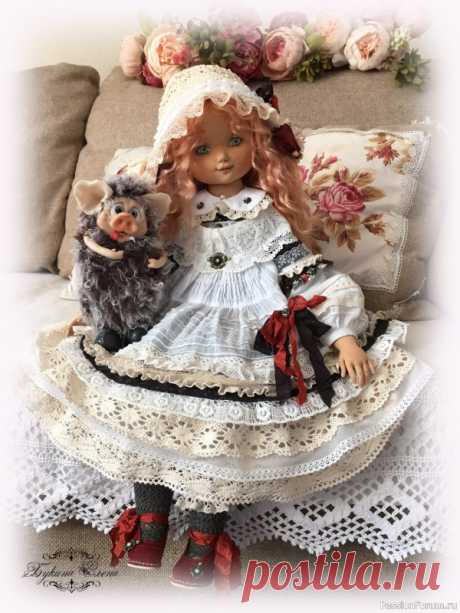 Коллекционная авторская кукла. | Куплю-продам