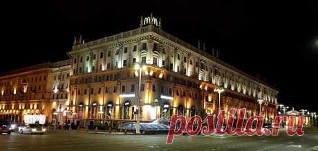 Вечерний Минск. Любимый город