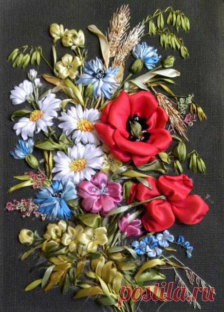 «Светлана Герасимова - вышивка лентами - tvsreda24.ru» — карточка пользователя валентина с. в Яндекс.Коллекциях
