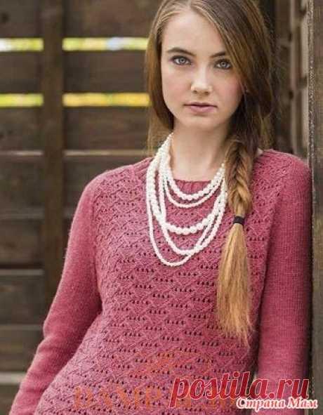 Вязаный пуловер «Talmage» - Вязание - Страна Мам