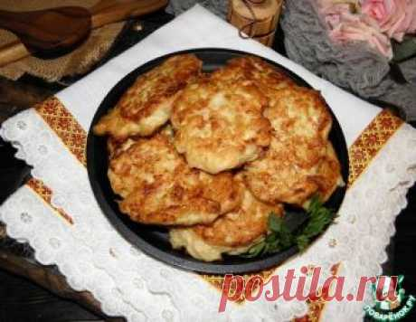 Картофельно-куриные оладьи с сыром – кулинарный рецепт