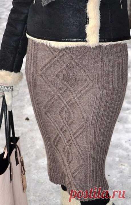 Юбки вязанные спицами. Вязанные юбки со схемами | Лаборатория домашнего хозяйства