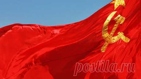 Над административным зданием в Швеции подняли флаг СССР