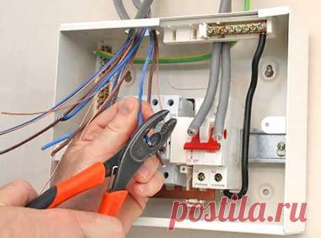 Электропроводка в квартире своими руками: принципы монтажа и схема разводки