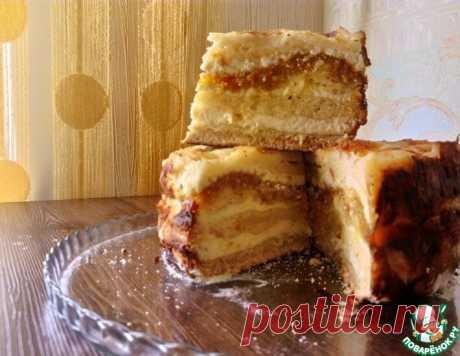 Творожное пирожное без замеса теста | ПОВАРЁНОК.РУ | Яндекс Дзен