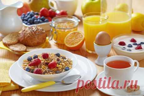 4 идеальных завтрака.