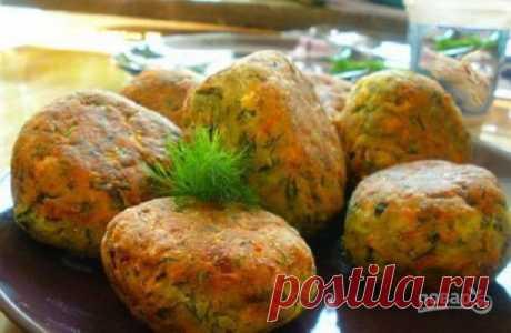 Las croquetas de calabacín - poshagovyy la receta de la foto en Повар.ру