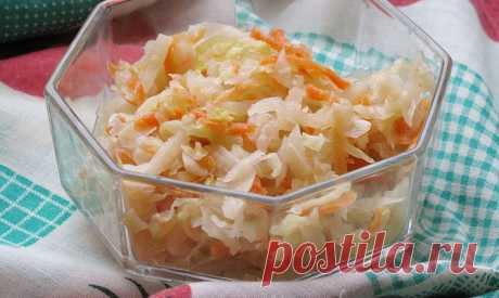 Квашеная капуста - польза и вкуснятина - квашеная капуста, польза квашеной капусты, рецепт квашеной капусты